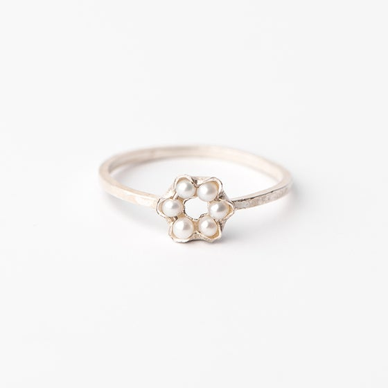 Image of Bague Patty 6 perles