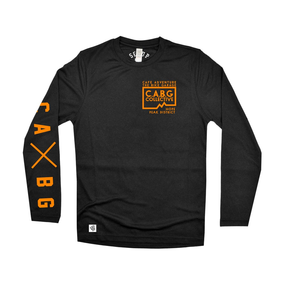 Image of Custom CABG LongSleeve Riding Jersey