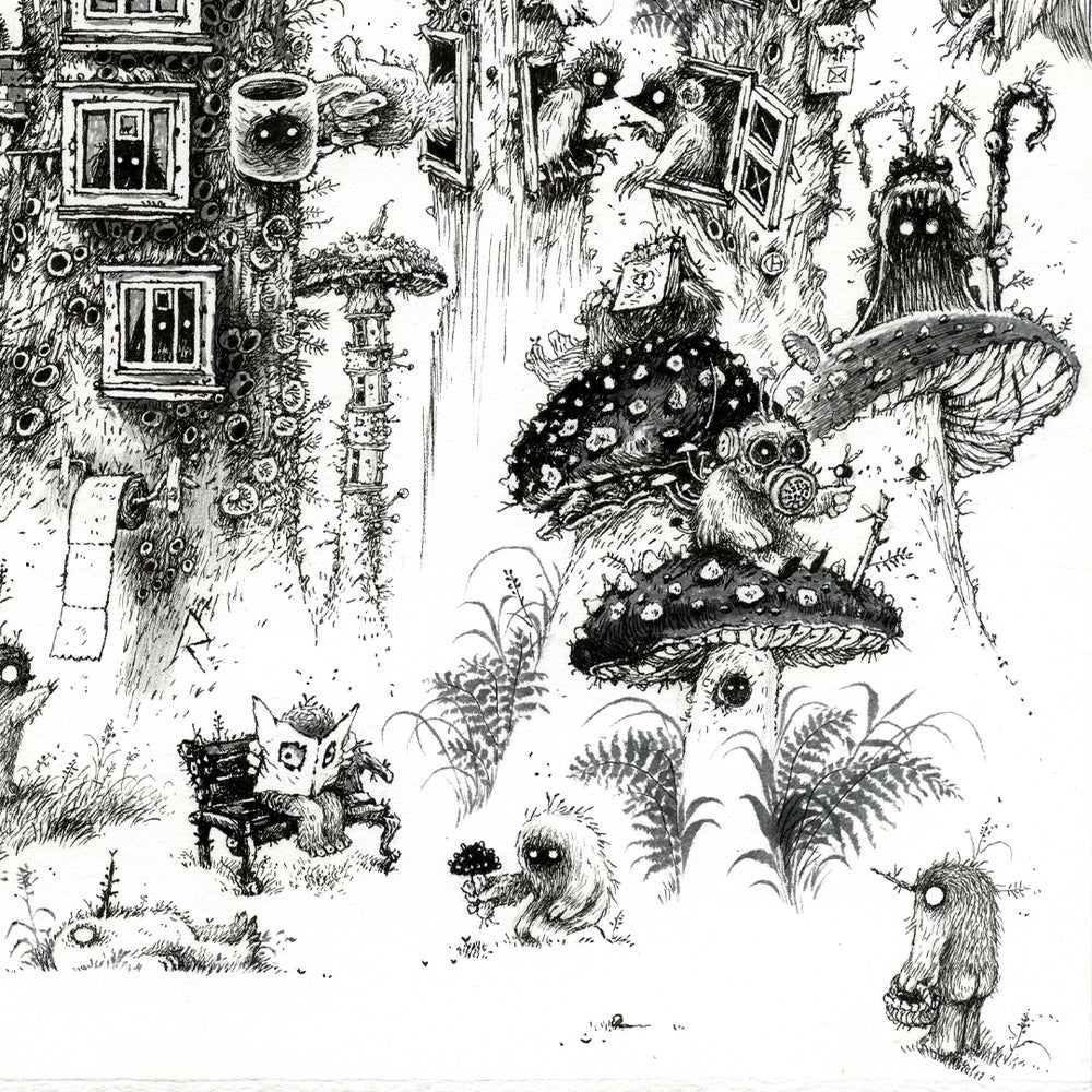 Image of Home Sweet Home - Limited Edition Print + Stickers