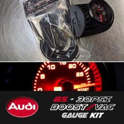 Image of PROJECTB5 - B5 Audi S4/A4 30PSI Boost/Vac Gauge Kit