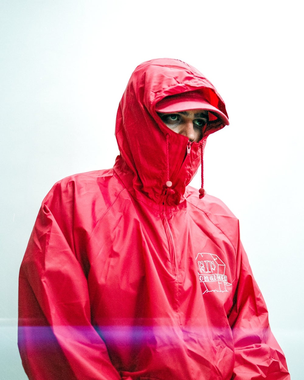 Image of RED  OG WINDBREAKER