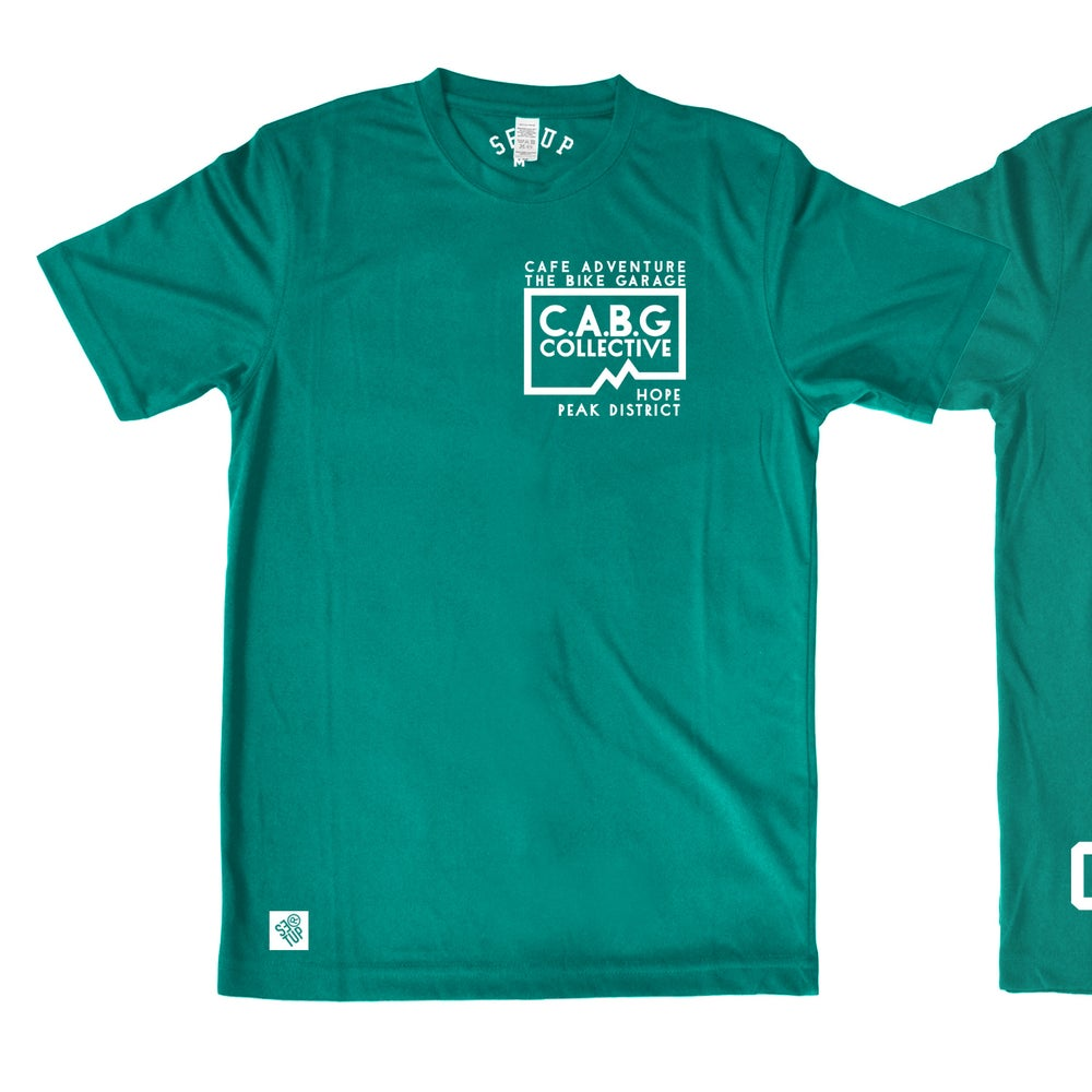 Image of Custom CABG Short Sleeve Riding Top