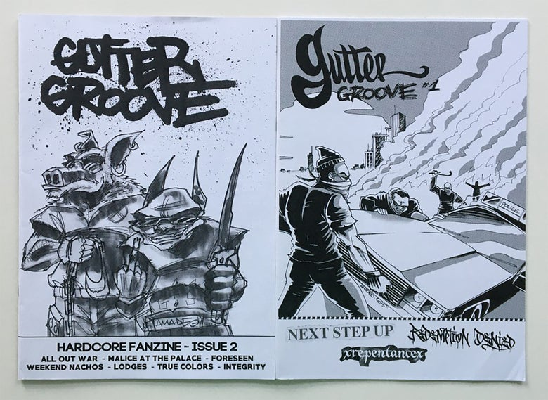Image of Gutter Groove Issue 1 & 2