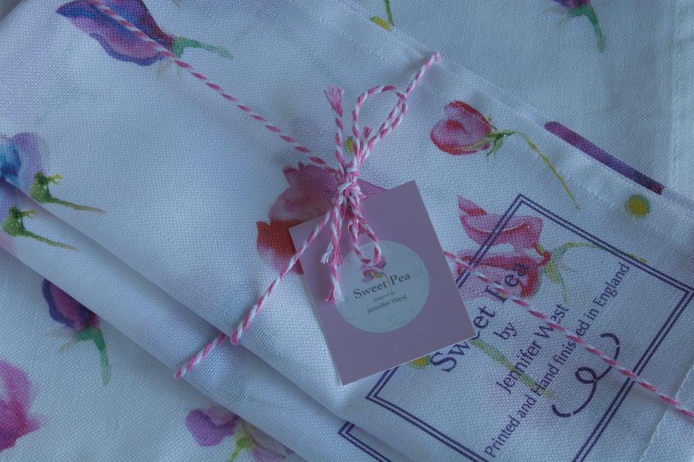 Image of Sweet Pea Tea Towel