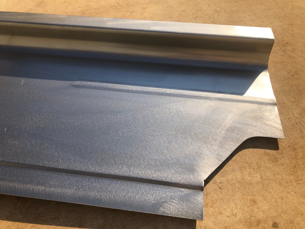 VW MK1 Caddy Pickup Rear Quarter/ Cab section Inner Sill Reinforcement Panel