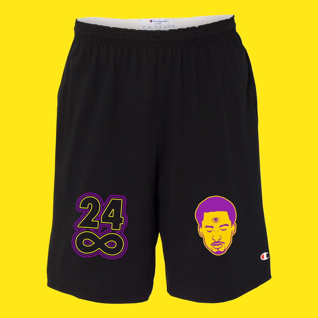 Image of Kobe 2 Color Tribute Champion Shorts