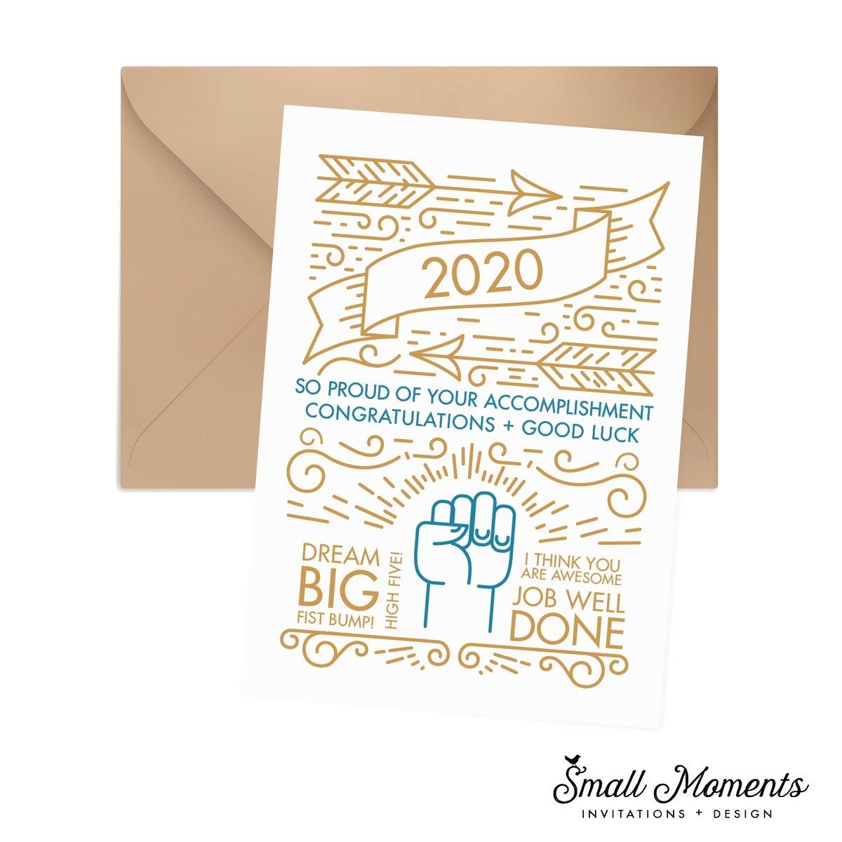 2020 Graduation Card