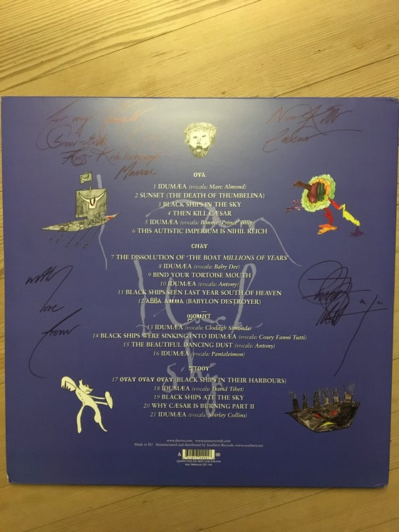Image of Current 93 signed by 4. To Maniac