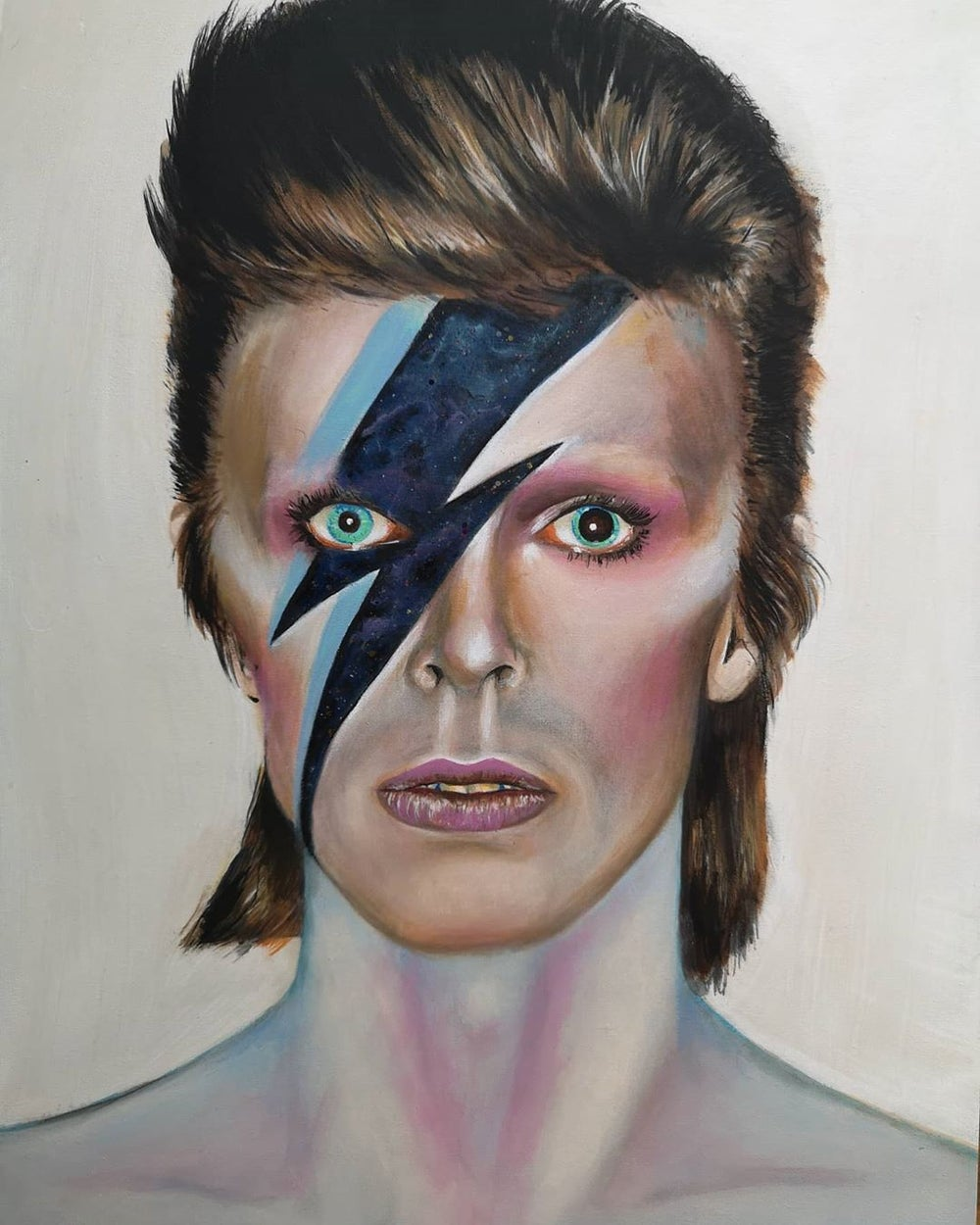 "Bowie ""Starman"" (Original Painting)"