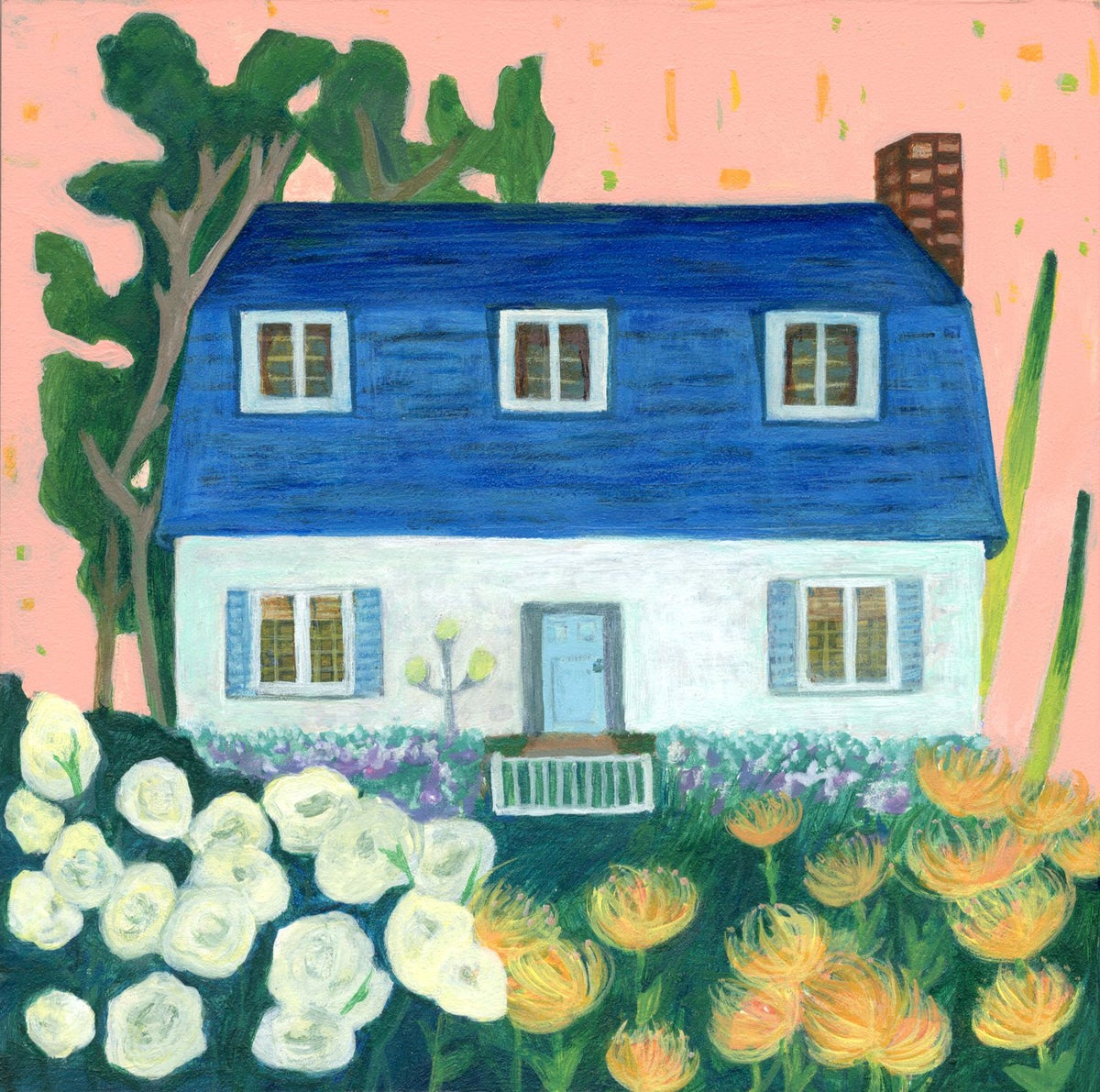 Image of Stay Home 2 Painting