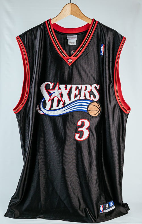 Image of Authentic Philadelphia 76ers Allen Iverson Jersey