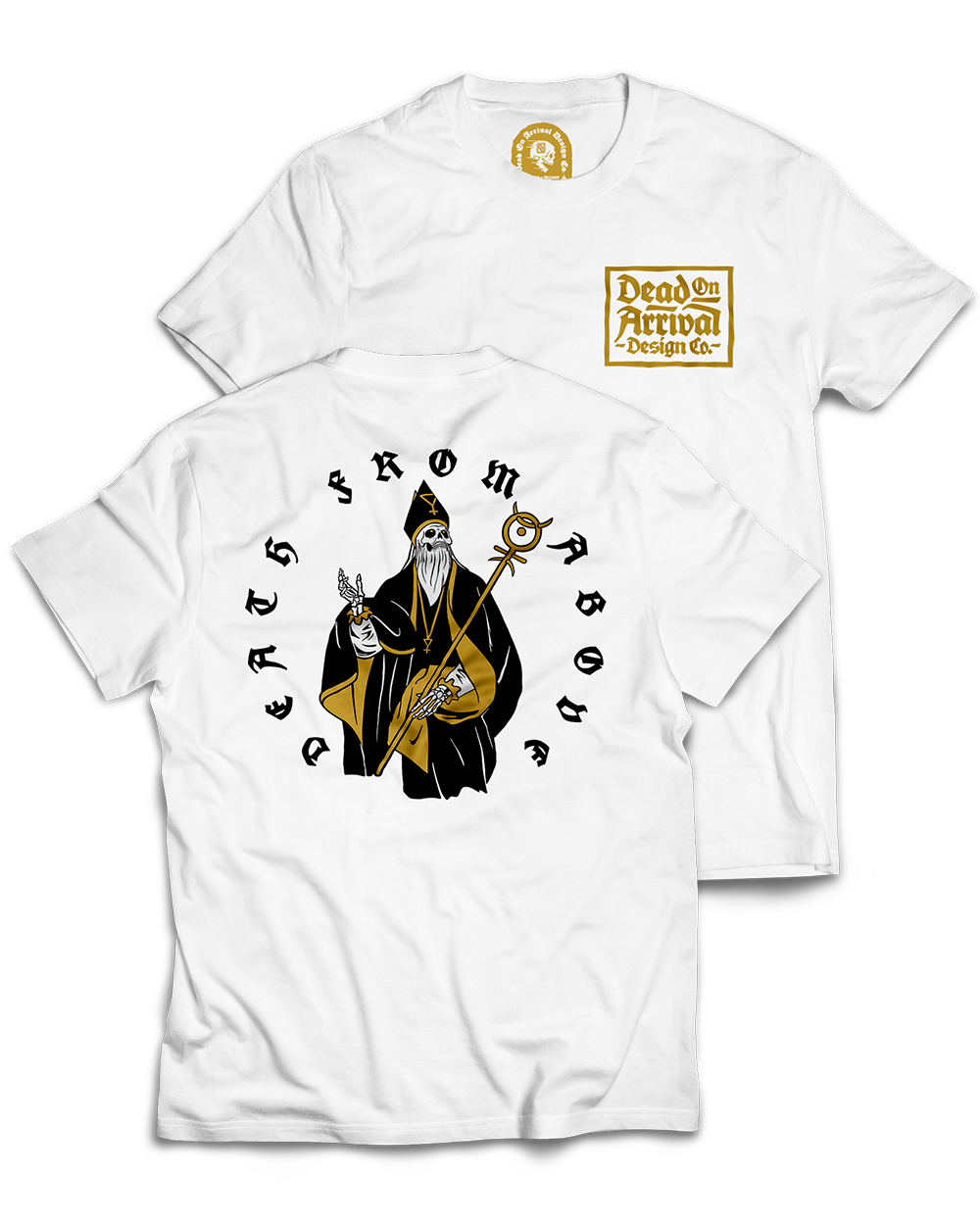 """""""Death From Above"""" / Graphic Tee, White"""