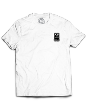 """""""Death Delivers"""" / Graphic Tee, White"""