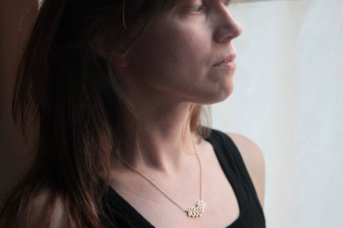 """Image of """"between the folds"""" necklace"""