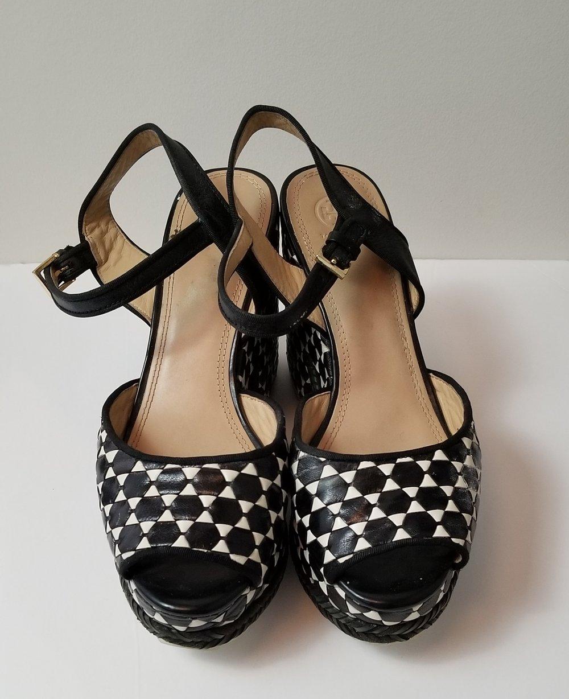 Image of Tory Burch Platform Sandals Women's Shoe Size 11