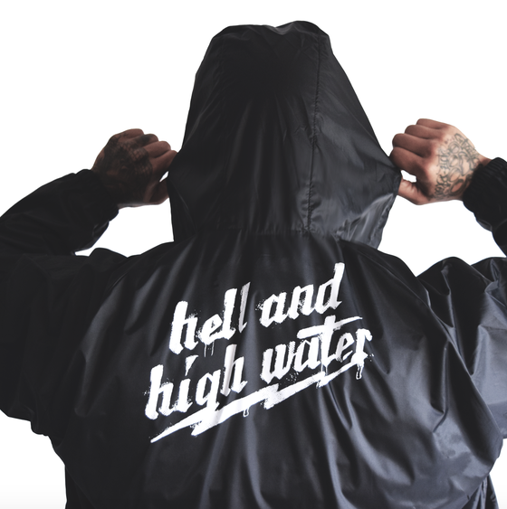 Image of Hell and High Water Hooded Coach Jacket