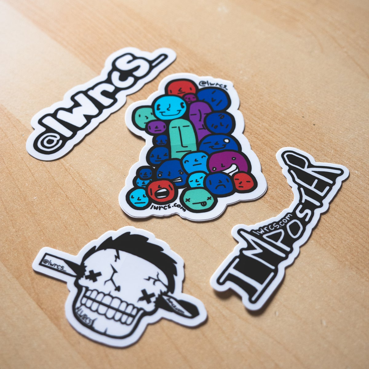 Image of Imposter Sticker Pack