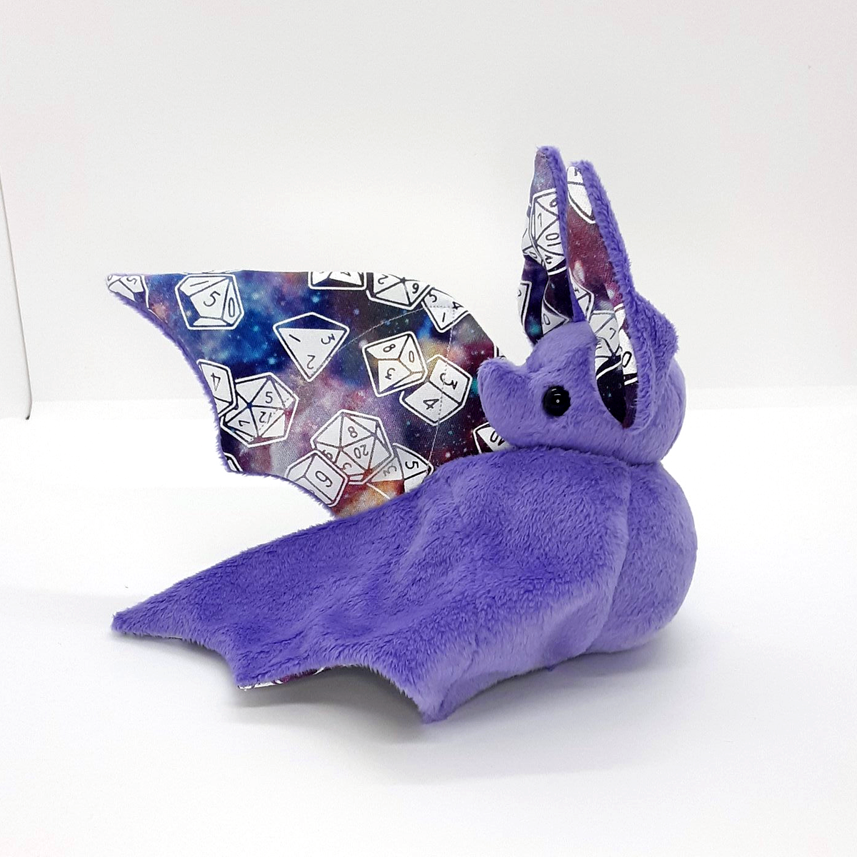 Image of Galaxy Dice bat (Black or Lavender colour option) -  Made to Order