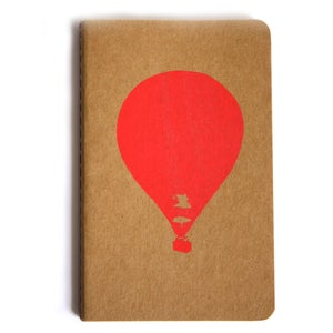 Image of SCREEN PRINTED NOTEBOOK - NEON BALLOON