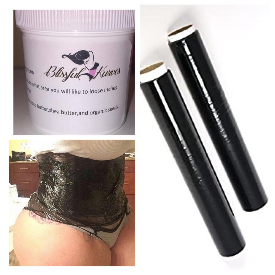 Image of BK detox wrap and fat burning cream (COMBO)