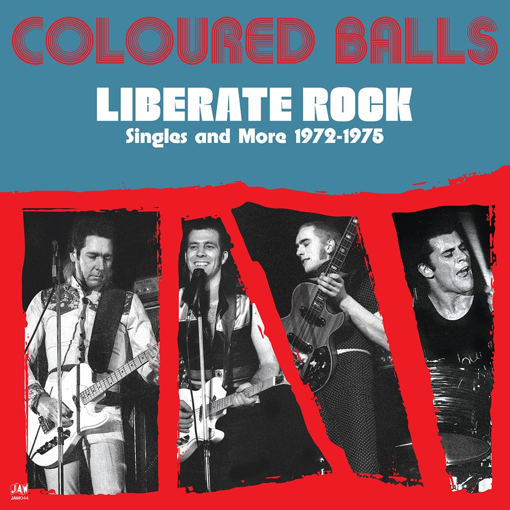 """Image of COLOURED BALLS """"Liberate Rock: Singles and More 1972-1975"""" 2xLP JAW044"""