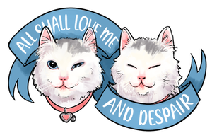 Image of All Shall Love Me sticker
