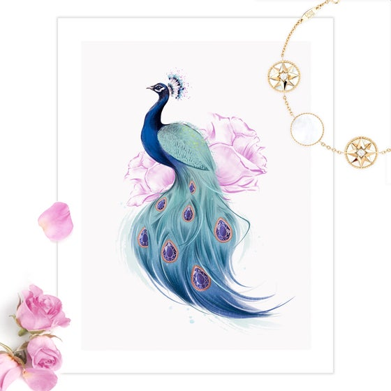 Image of Fabulous Feathers PRINT