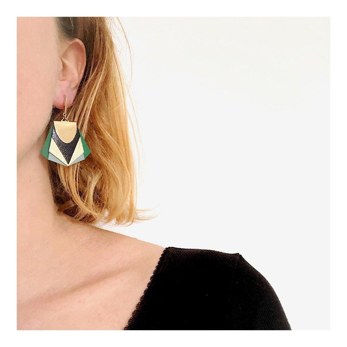 Boucles d'oreilles NOA #15