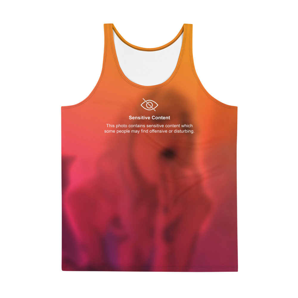 SENSITIVE CONTENT Unisex  All-over Print Tank Top