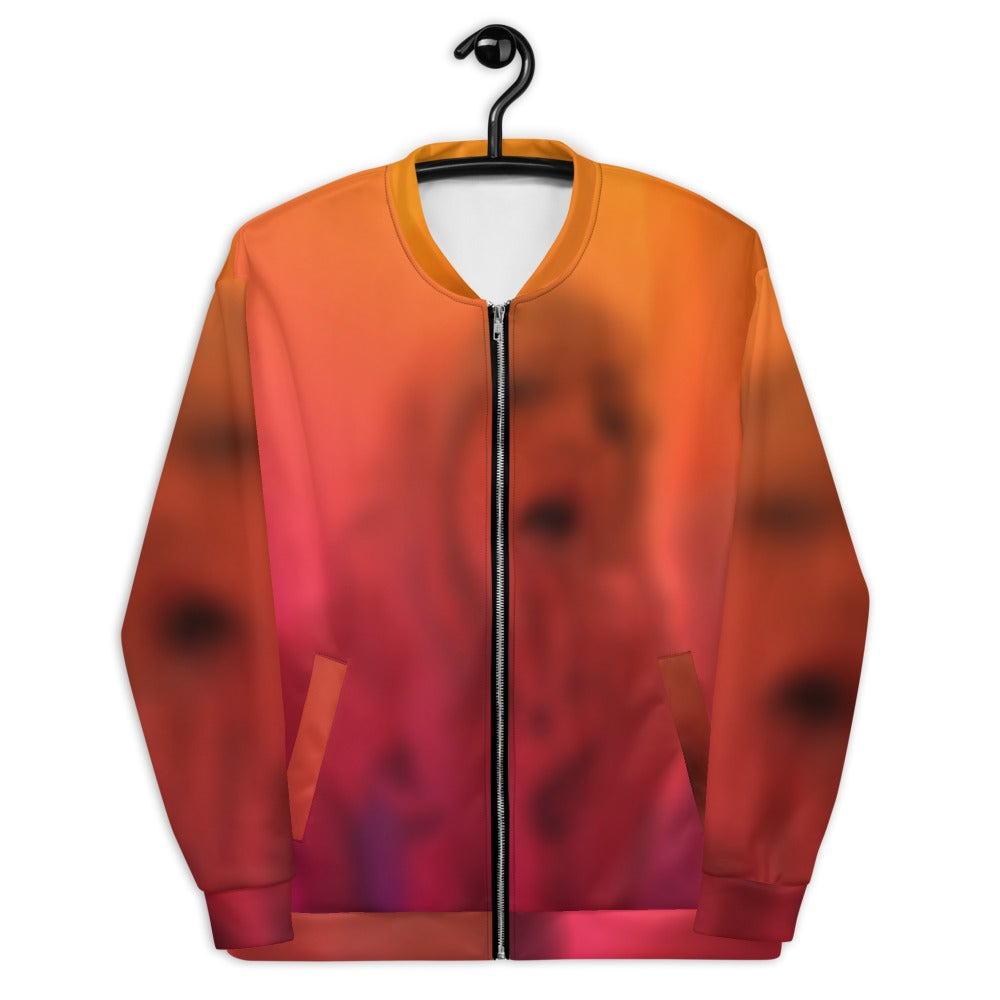 SENSITIVE CONTENT Unisex Bomber Jacket