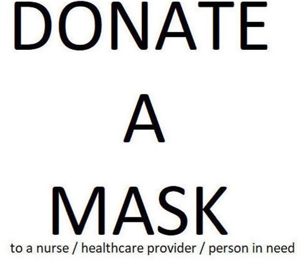 """Image of """"Donate A Mask"""""""