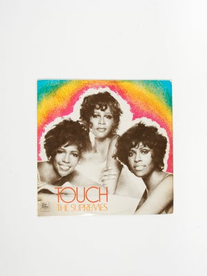 THE SUPREMES - TOUCH ORIGINAL VINYL
