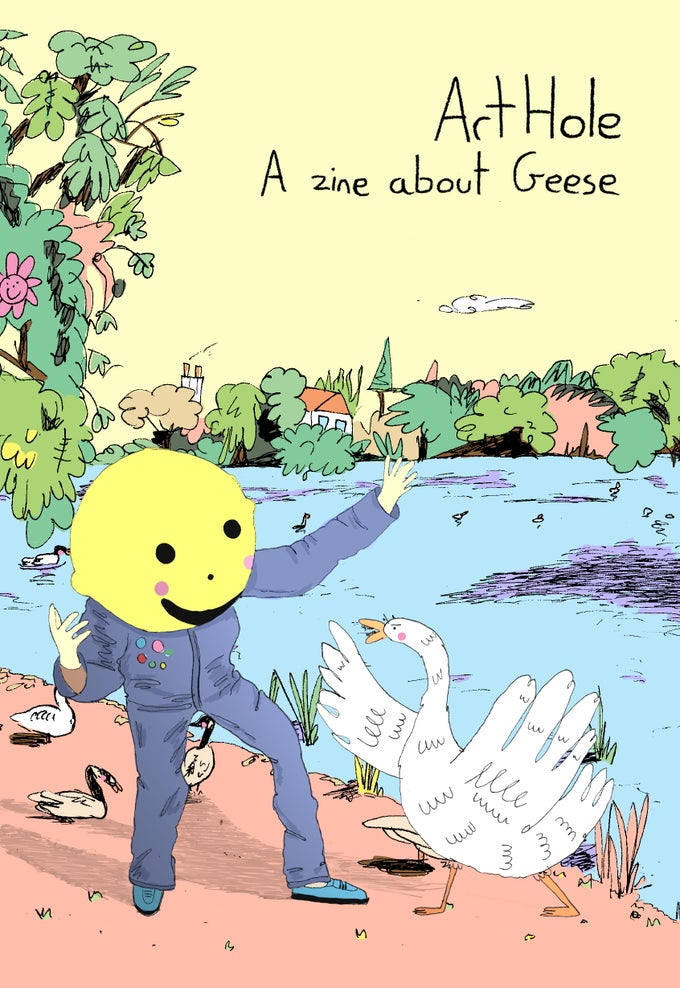 Image of A Zine About Geese