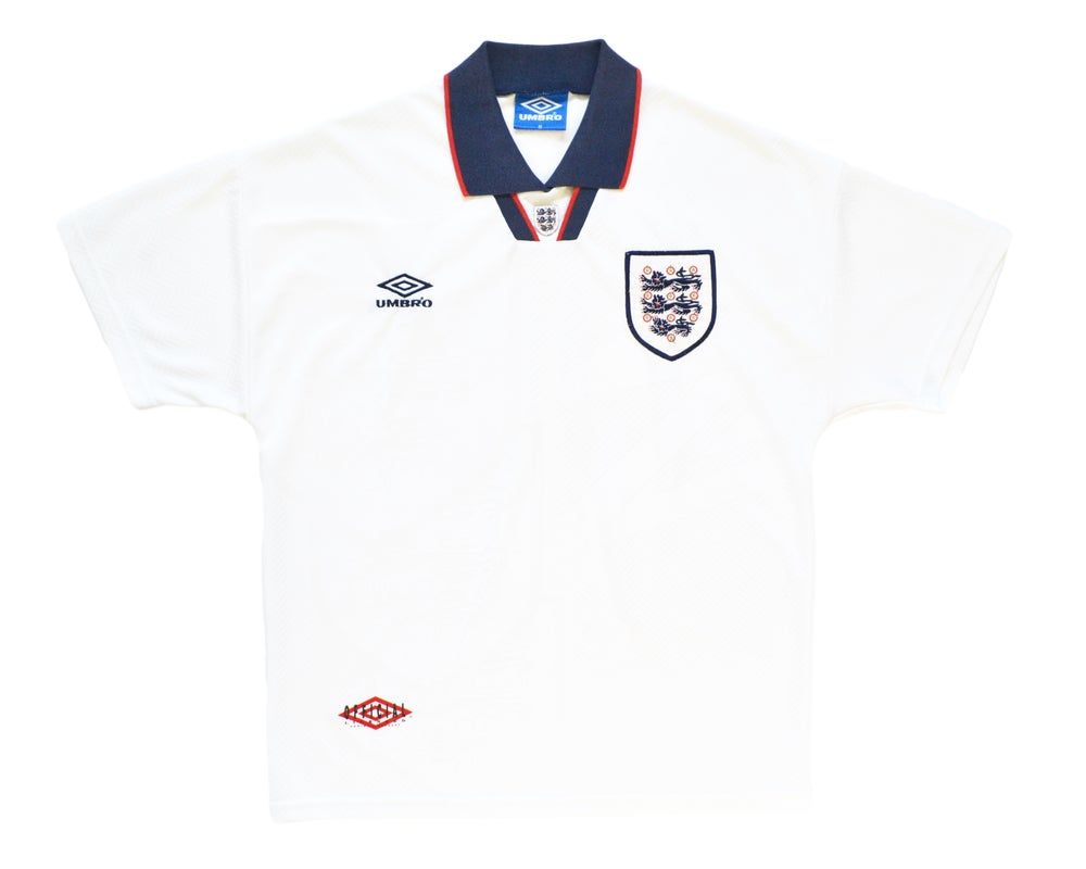 Image of 1993-95 Umbro England Home Shirt XXL