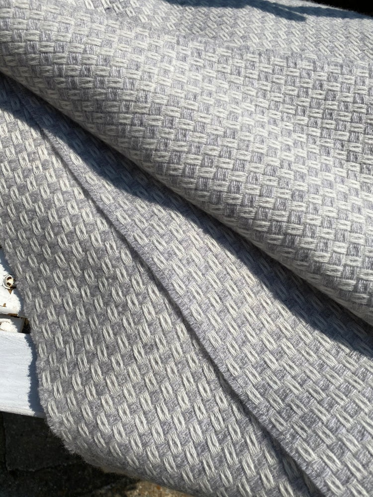 Image of Grey Merino Throw