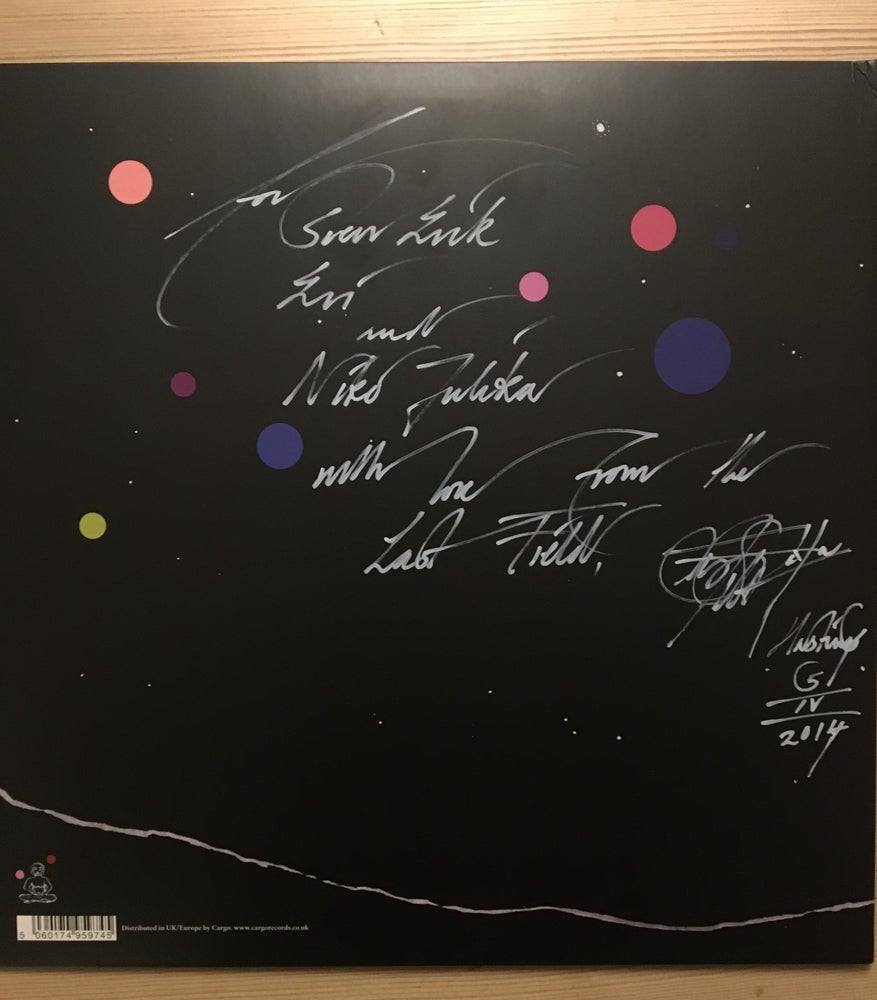 Image of Current 93 signed by David