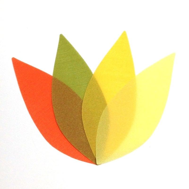 Image of Sunflower | Stylized Leaf Mobile