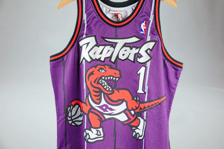 Image of Authentic Toronto Raptors Tracy McGrady Jersey