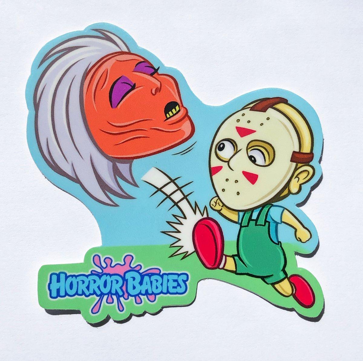 "Horror Babies Baby J 3"" Sticker"