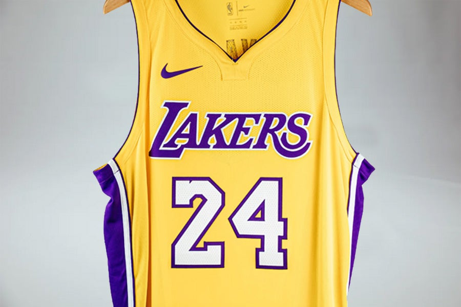 Image of Authentic Los Angeles Lakers Kobe Bryant Jersey