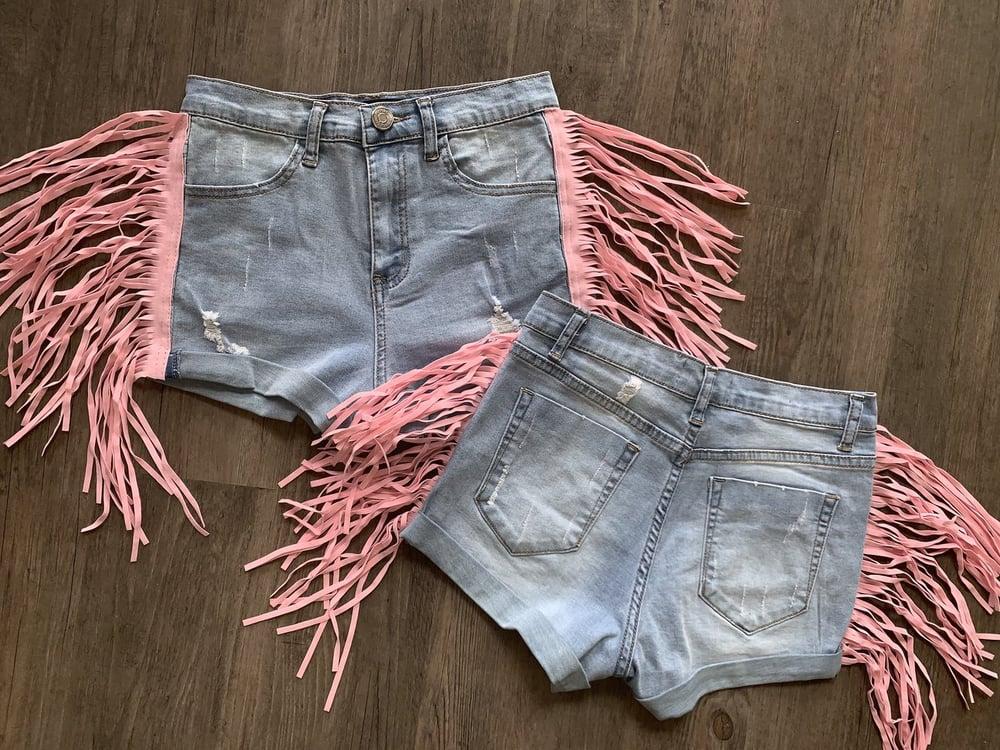 Image of Candy Denim Shorts
