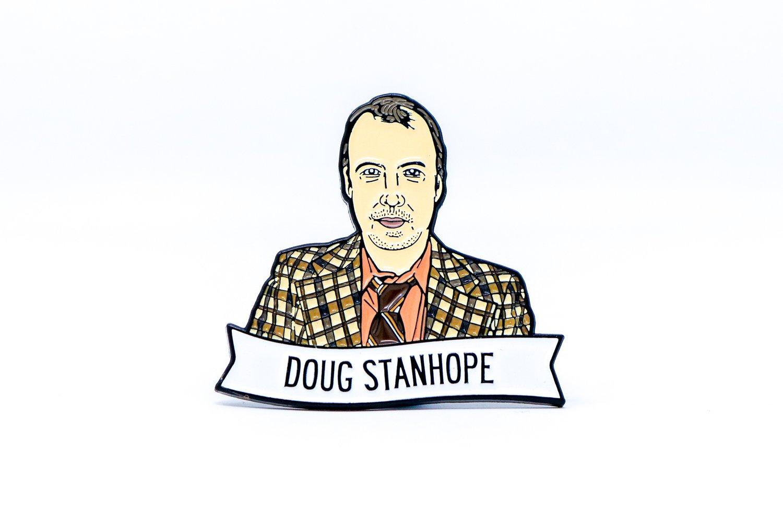 Image of Doug Stanhope Enamel Pin