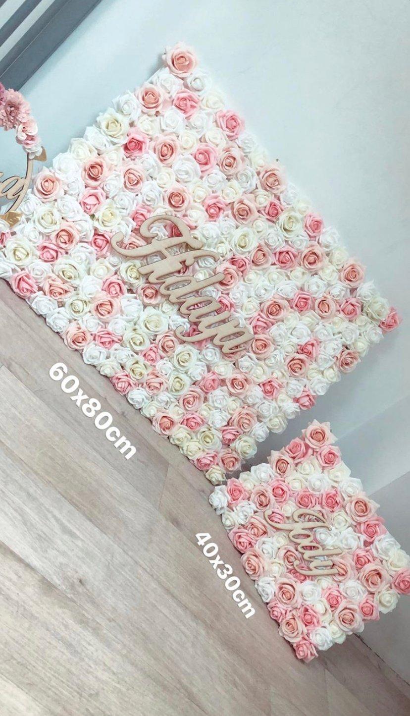 Image of Tableau fleuri grand modèle 60x80cm