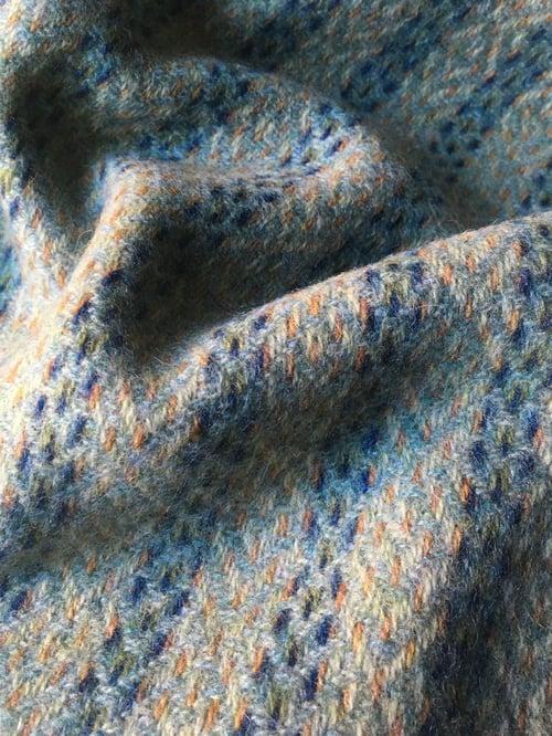 Image of Catkin & Eucalyptus 'Deco Fan' scarf