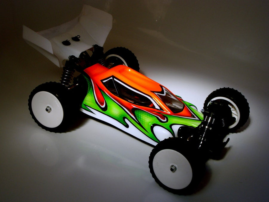 Image of PHAT BODIES '44' bodyshell for Losi Mini 8ight LC Racing EMB-1 Team Associated Reflex 14B