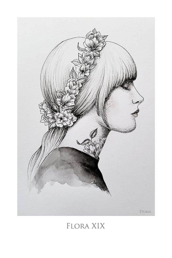 Image of Flora XIX 60 x 40 cm