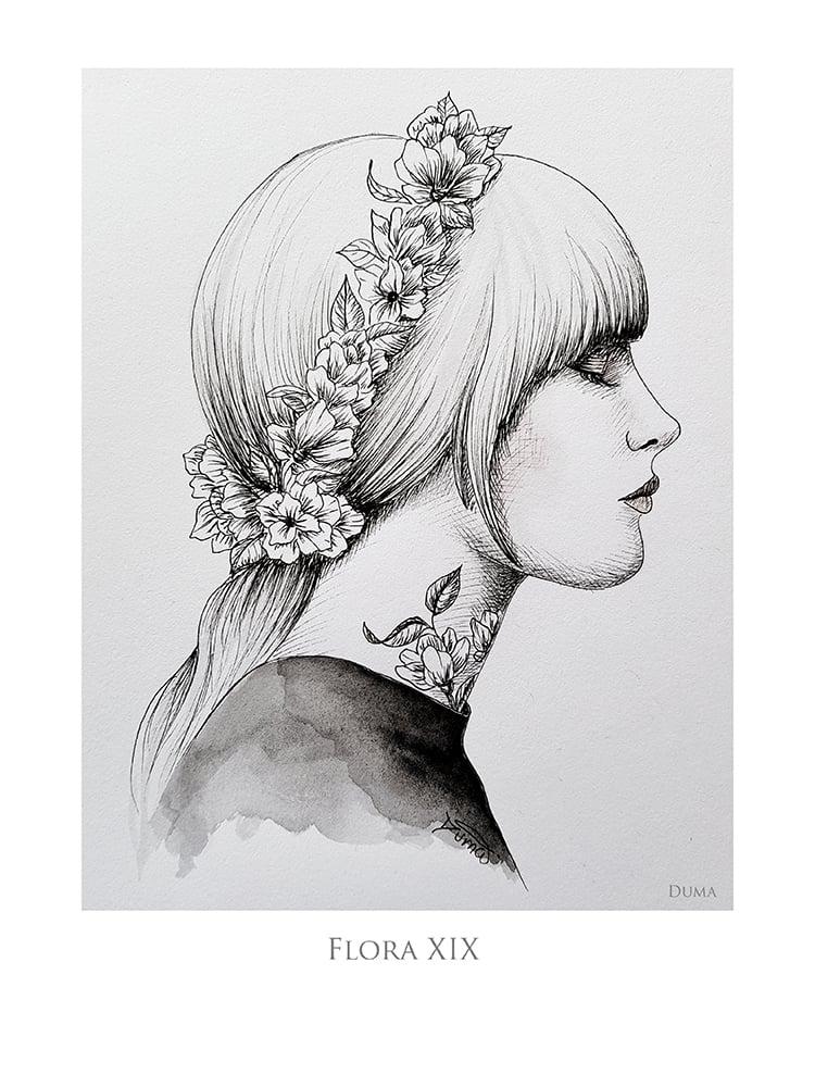 Image of Flora XIX 40 x 30 cm