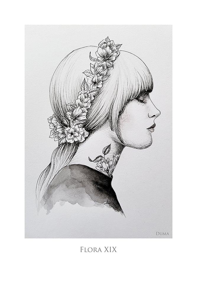 Image of Flora XIX 30 x 20 cm
