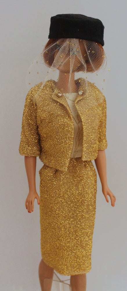 Image of Barbie -  Gold Lame Suit - One of a Kind