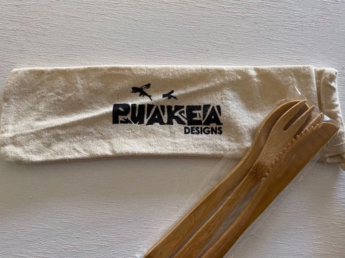 Image of Puakea Bamboo Utensil Set